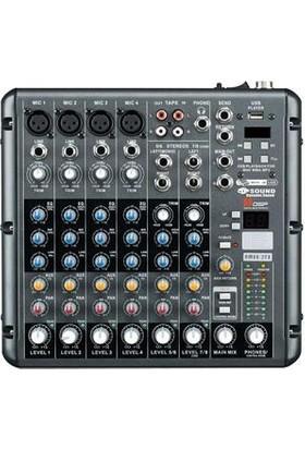 D-Sound Rmv8/2Fx Dec Mixer