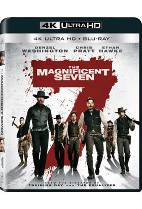 Magnificent Seven 4K Uhd - Muhteşem Yedili 4K Uhd+Blu Ray Disc