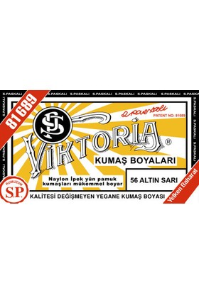 Viktoria Kumaş Boyası Altın Sarı