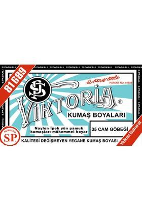 Viktoria Kumaş Boyası Cam Göbeği