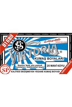 Viktoria Kumaş Boyası Mavi Koyu