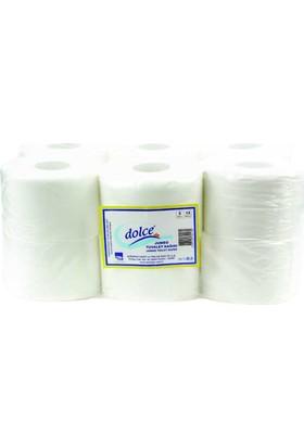 Dolce Jumbo Tuvalet Kağıdı Çift Katlı 4 Kg. 12 Rulo