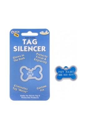 Quick Tag Köpek İsimlik Kemik Büyük İçin Sessizleştirici
