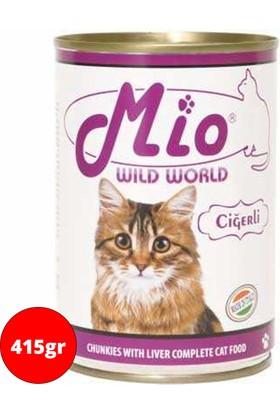 Mio Kedi Konservesi 415Gr Ciğerli