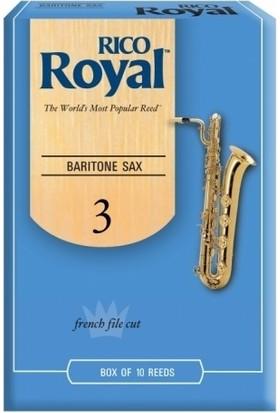 Rico Royal RLB1030 Bariton Sax Kamışı No:3