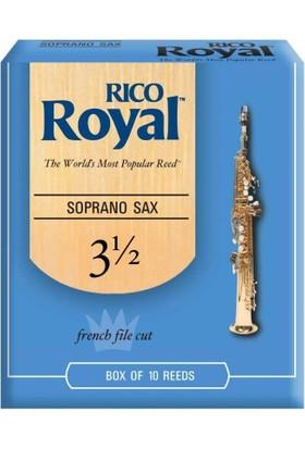Rico Royal RIB1035 Soprano Sax Kamışı No:3,5