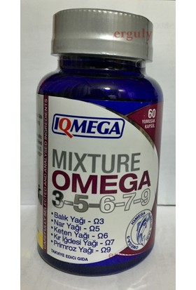Iqmega Omega 3-5-6-7-9 / 60 Softgel