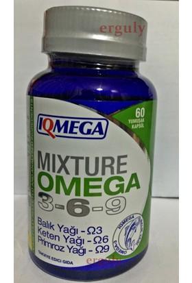 Iqmega Omega 3.6.9- 60 Softgel