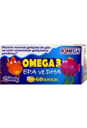 Iqmega Omega 3 Çocuklara 250 Mg