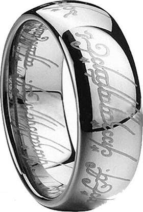 A-Leaf Lord Of The Rings Sırlar Yüzüğü Yüzüklerin Efendisi Yüzük Hobbit Güç Yüzüğü Silver
