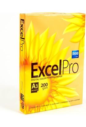 Excel Pro Sınar Spectra A3 200 gr. Gramajlı Fotokopi Kağıdı 250 sf.