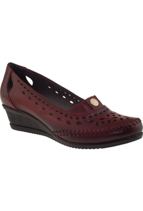 Muya 92014 Deri Kırmızı Kadın Ayakkabı