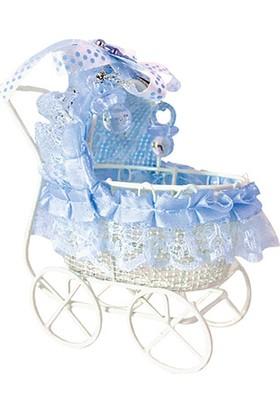 Kullanatmarket Erkek Bebek Arabası Puset Şeker Sepeti