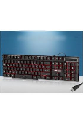 Hadron Led Işıklı Klavye