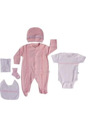Aziz Bebe 5108 Hastane Çıkış Seti 6Lı