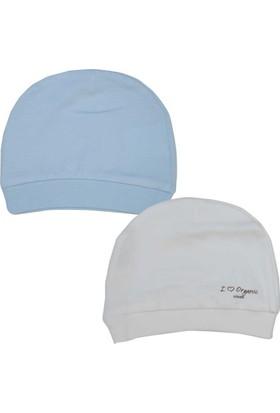 KitiKate S76056 2li Organik Bebek Şapkası