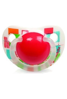 Bebedor 161 Art Desenli Silikon Damaklı Emzik No:1 0M+