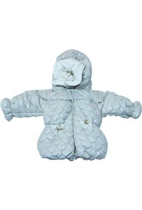 Bebetto K1174 Mikro Elyaflı Kız Bebek Montu