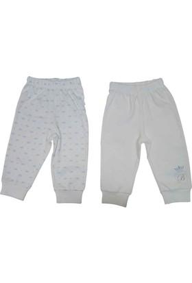 Bebetto T1093 Taç 2'li Bebek Penye Pantolon