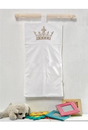 Kidboo Royal White Bebek Çamaşır Torbası
