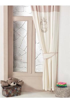 Kidboo Royal Vanilla Bebek Odası Perde 150X220 Cm