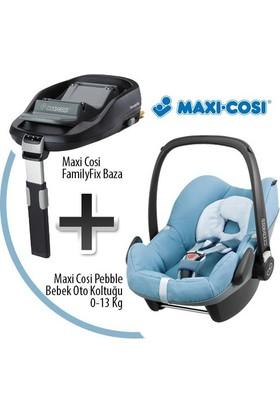 Maxi Cosi Pebble Oto Koltuğu + Family Fix Baza