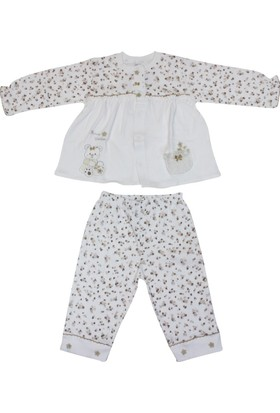 Minidamla 41785 Çiçekli Pijama Takımı