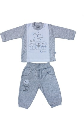 Minidamla 41768 Melanjlı Erkek Bebek Takımı