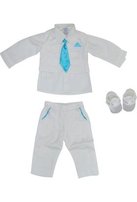 Pugi Baby 2014 Kravatlı Erkek Bebek Mevlüt Takımı