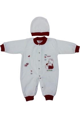 Sebi Bebe 52307 Ayıcık Desenli Bebek Tulumu