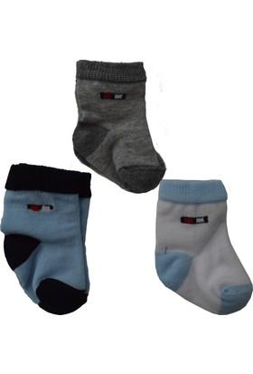 Sebi Bebe 197 3'lü Bebek Çorabı