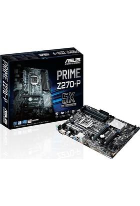 Asus PRIME Z270-P Intel Z270 3200MHz+ (OC) DDR4 Soket 1151 ATX Anakart