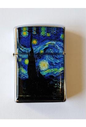 Köstebek Vincent Van Gogh - Yıldızlı Gece Çakmak