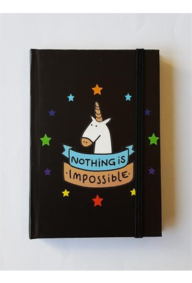 Köstebek Nothing Impossible Defter