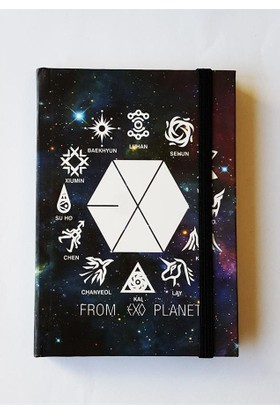 Köstebek K-Pop Exo Planet Defter