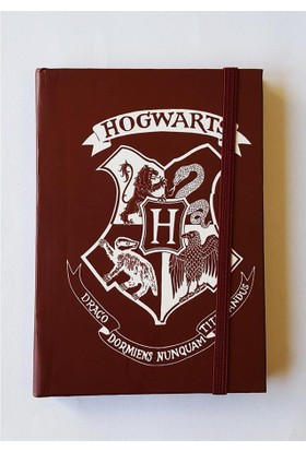 Köstebek Harry Potter - Hogwarts Bordo Defter
