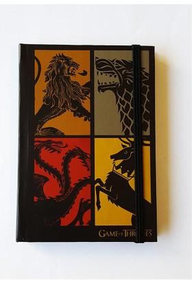 Köstebek Game Of Thrones Family Defter