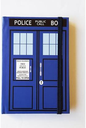 Köstebek Dr. Who Police Box Defter