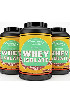 Nutratech Nutrition WHEY ISOLATE - Whey Protein Tozu - Çikolata - 908 Gr