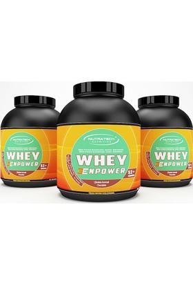 Nutratech Nutrition WHEY ENPOWER ® - Whey Protein Tozu - Çilek - 2300 Gr