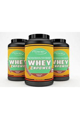 Nutratech Nutrition WHEY ENPOWER® - Whey Protein Tozu - Çilek - 908 Gr