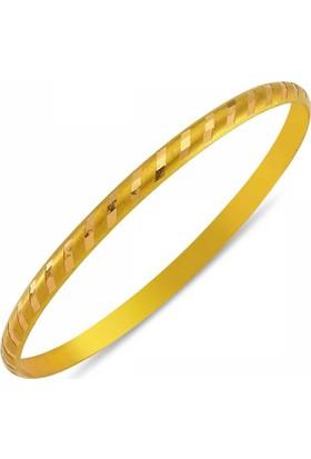Duman 14 Ayar Altın 3.20 Gr Hediyelik Bilezik Sgb42-67387