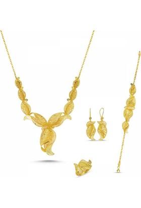 Sembolgold Altın Takı Seti Fizyon Dubai Özel Tasarım As-42-T1866 22