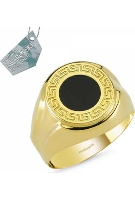 Sembolgold Bayceo Altın Erkek Yüzük Sg-42-Ad0024 22