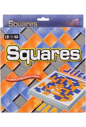 Hobi Eğitim Dünyası Hepsi Dahice Squares - Kareler Oyunu