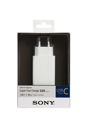 Sony CP-AD3 Usb Type-C Hızlı Şarj Cihazı 5V 3.0A - Beyaz
