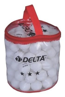 Delta 100 adet Çantalı Masa Tenisi Topu (Pinpon Topu)