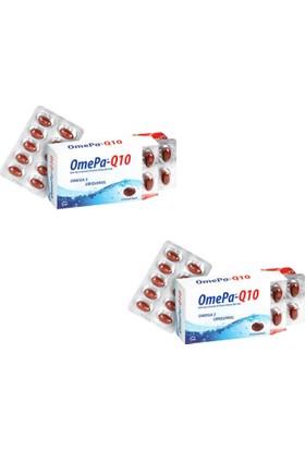 Tab İlaç Omepa-Q10 - Omega 3 Ve Koenzim Q10 (Ubiquinol) 30 Kapsül - 2 Kutu