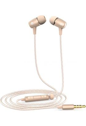 Huawei AM12 Plus Mikrofonlu Kulakiçi Kulaklık - Gold