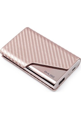 Zhuse 4.000mAh Kartvizitli PowerBank - Rose Gold